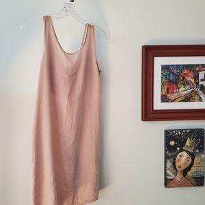 My Story cream sleeveless blouse. Small EUC